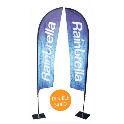 Picture of Medium Feather Banner - Double Sided Combo
